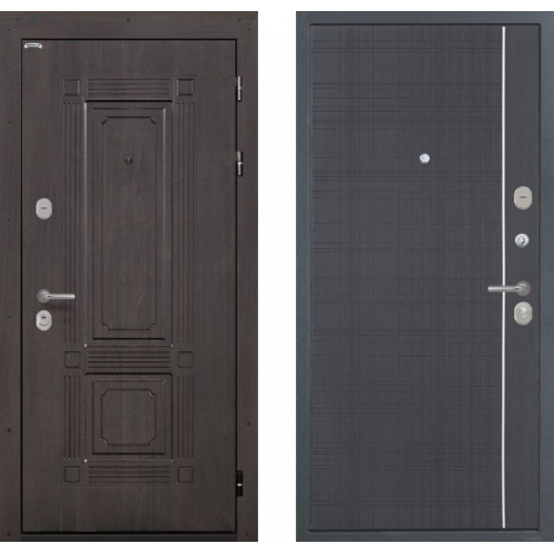 Входная Дверь Интекрон Италия Венге L-6