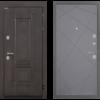 Входная Дверь Интекрон Италия Лучи-М Софт графит
