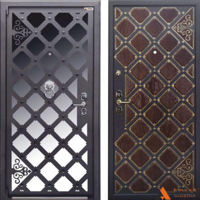 Дверь входная Арма Сундук с нерж.