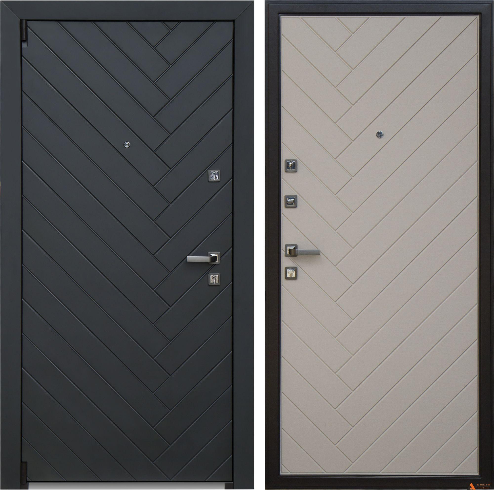 Дверь входная Арма Diagonal