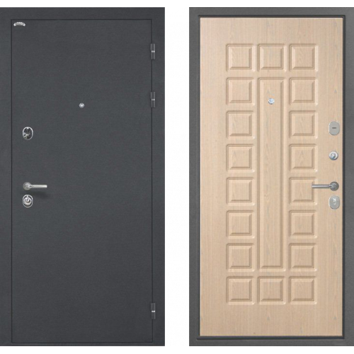 Входная Дверь Интекрон Греция Беленый дуб ФЛ-183