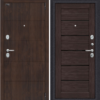 Входная дверь BRAVO Porta S 4.П22 (Прайм)Темная Вишня/Wenge Veralinga