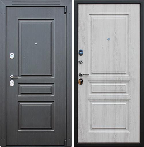 Входная дверь АСД Гермес NEW «Сосна белая»