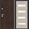 Входная дверь BRAVO Porta M 4.П23 Almon 28/Cappuccino Veralinga