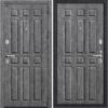 Входная дверь BRAVO GROFF P3-303 (94 мм) П-27 Серый Дуб