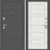 Входная дверь BRAVO Porta S 104.П22 Bianco Veralinga/White Waltz