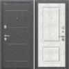Входная дверь BRAVO Оптим Стиль Bianco Veralinga