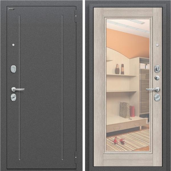 Входная дверь BRAVO Оптим Флэш Cappuccino Veralinga/Reflex