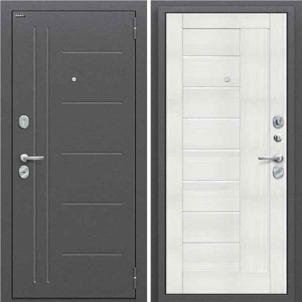 Входная дверь BRAVO Оптим Проф Bianco Veralinga/White Waltz