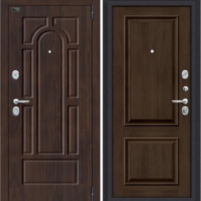 Входная дверь BRAVO Porta S 55.К12 Almon 28/Dark Oak