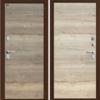 Входная дверь BRAVO GROFF Т3-300 Tobacco Oak/Natural Oak
