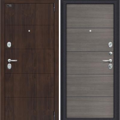 Входная дверь BRAVO Porta S 4.П50 Almon 28/Grey Veralinga