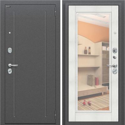 Входная дверь BRAVO Оптим Флэш Bianco Veralinga/Reflex