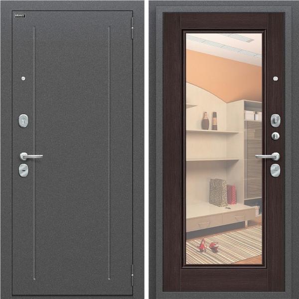 Входная дверь BRAVO Оптим Флэш Wenge Veralinga/Reflex