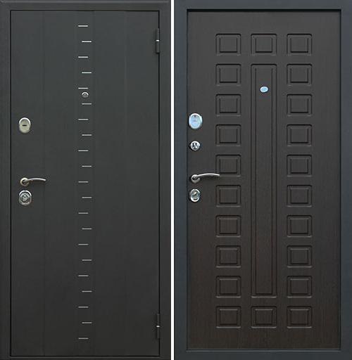 Входная дверь АСД АГАТА-3 «Венге»