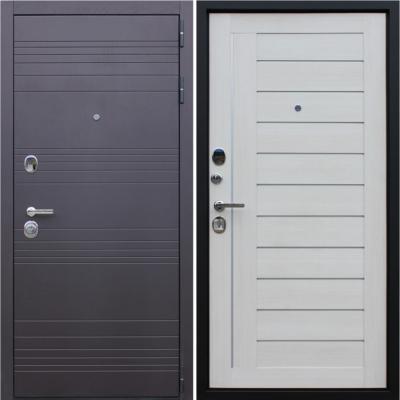 Входная дверь АСД Дуэт «Белая лиственница»