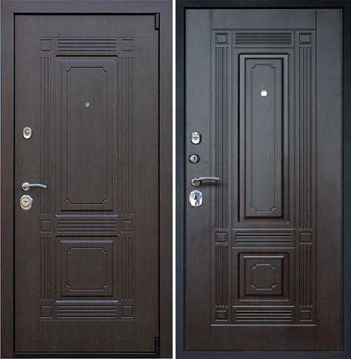 Входная дверь АСД Викинг «Венге»