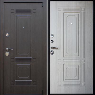 Входная дверь АСД Викинг «Беленый дуб»