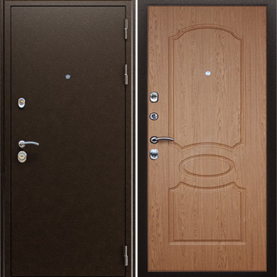 Входная дверь АСД Гpация «Орех темный»