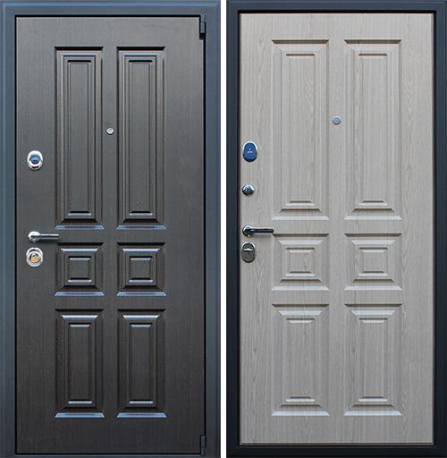 Входная дверь АСД Атлант «Беленый дуб»