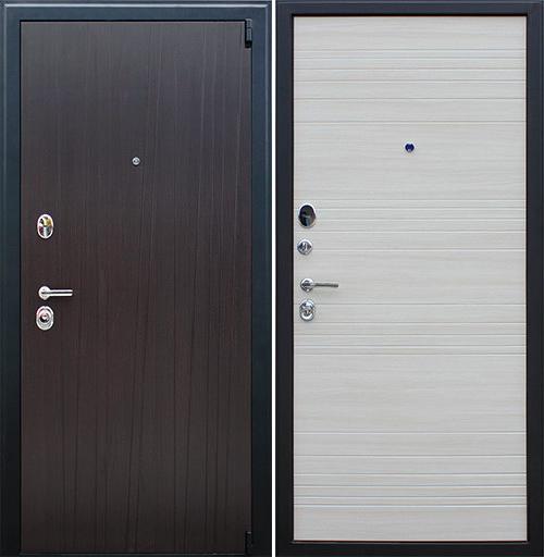 Входная дверь АСД Next 2 «Белая лиственница»