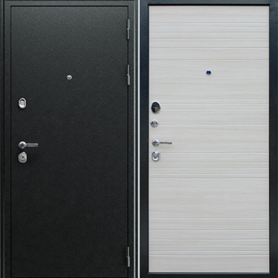 Входная дверь АСД Next 1«Акация светлая поперечная»