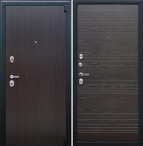 Входная дверь АСД Next 2 «Орех рифленый»