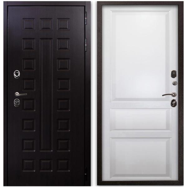Входная Дверь Воевода ОПЛОТ В-5 ЭМАЛЬ БЕЛАЯ